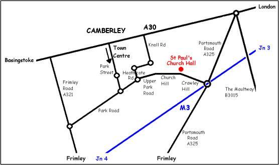 Camberley Reel Club St Paul S Church Hall